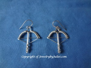 Crossbow Earrings 04