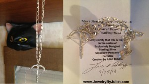 Norman Reedus' Crossbow Pendant!